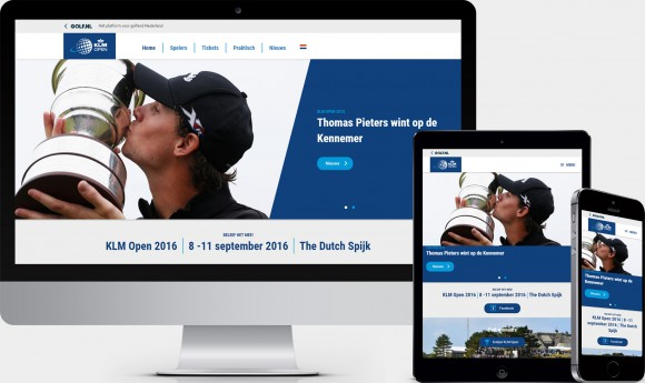 Website KLM Open