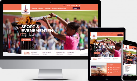 Website Olympisch Stadion