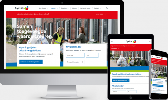 Drupal website voor Cyclus