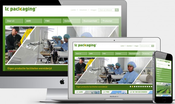 Meertalige multi-site voor LC Packaging